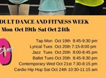 2020-21 Fall Free Adult Dance And Fitness Week