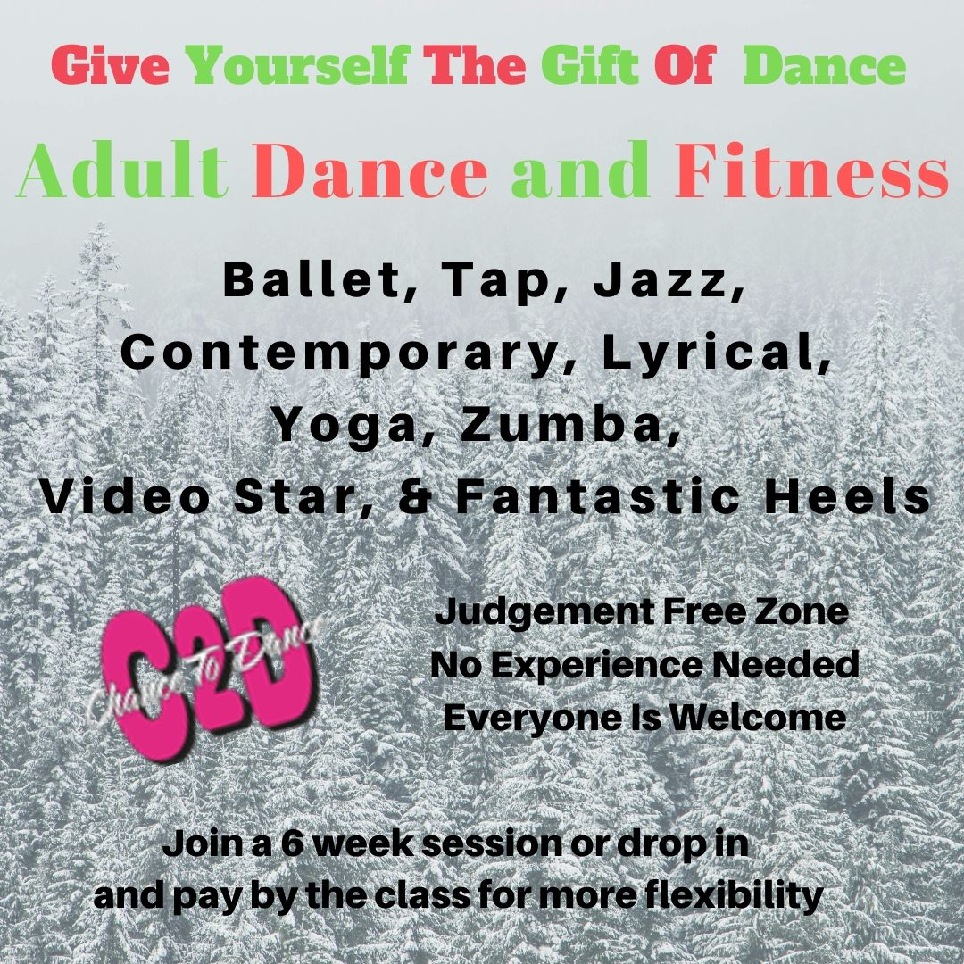 Give Yourself The Gift Of Dance